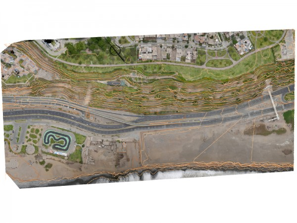 Cartografía con dron en Perú
