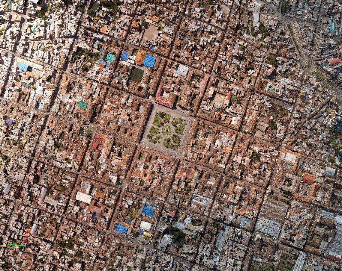 vuelo sobre ciudad de ayuacucho