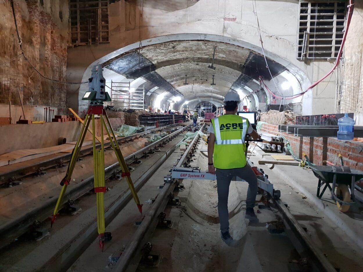 Metro operacion canalejas
